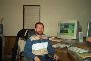 Thomas at work